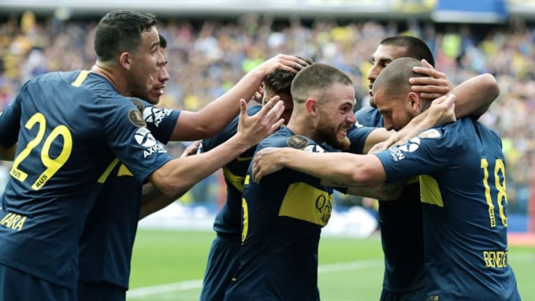 Boca 2-2 River | El unoxuno del Xeneize en la primera final de la Libertadores