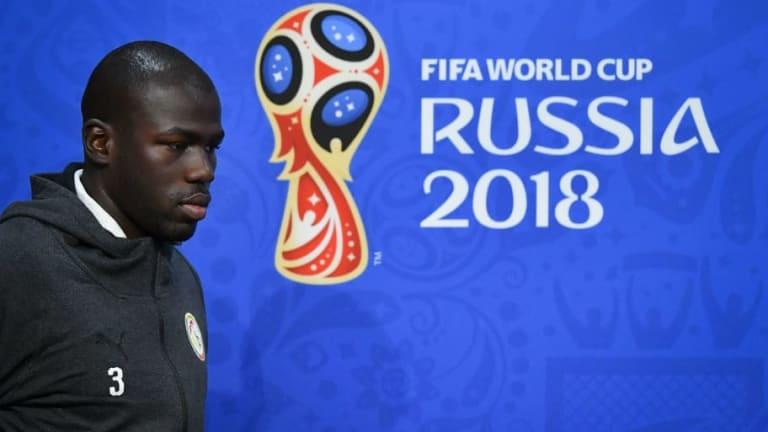 Chelsea Target Kalidou Koulibaly Plays Down £100m Transfer Rumours as Defender Focuses on World Cup