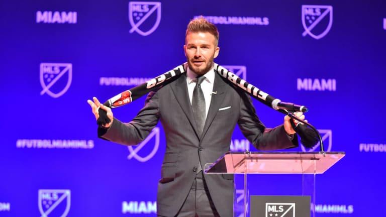 DE IMPACTO: David Beckham confía en convencer a tres estrellas del Real Madrid para ir a la MLS