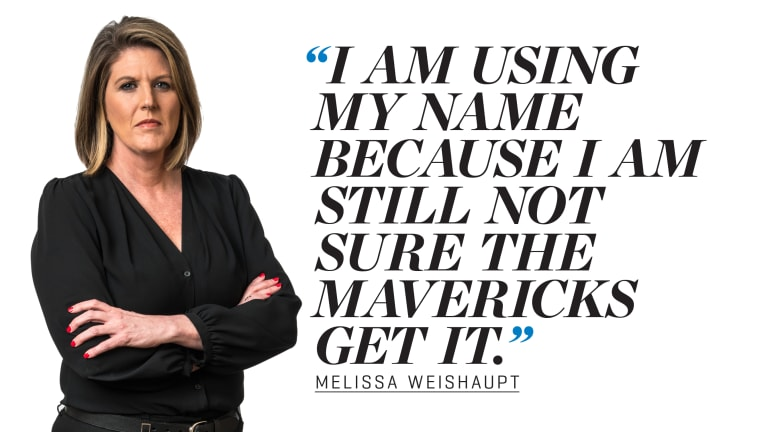 My Story: Melissa Weishaupt Goes on the Record About Mavs' Culture of Harassment