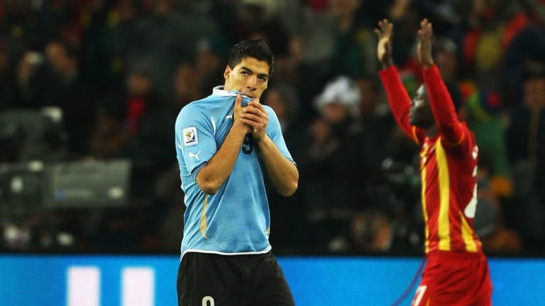 Luis Suarez Reveals What Went Through His Head During & After Infamous 2010 World Cup Red Card
