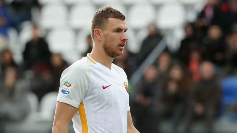 Report Claims Real Madrid Tried to Sign Roma Striker & Former Chelsea Target Edin Dzeko in January