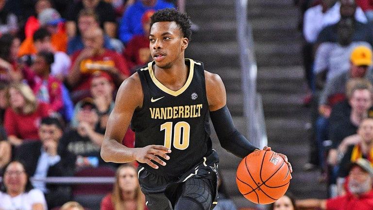 Vanderbilt Star Freshman Darius Garland Injured in Loss to Kent State