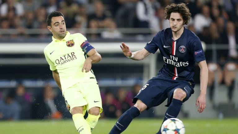 Barcelona Legend Xavi Hails PSG's 'Excellent' Adrien Rabiot as Links With Midfielder Continue