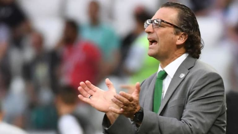Saudi Coach Juan Antonio Pizzi Claims Mohamed Salah Was Hampered By Injury at the World Cup