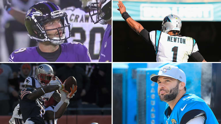 Week 7 Takeaways: Cam's Epic Comeback, Justin Tucker's Shocking Miss, Bortles's Collapse Is Complete, Bears Come Up a Yard Short