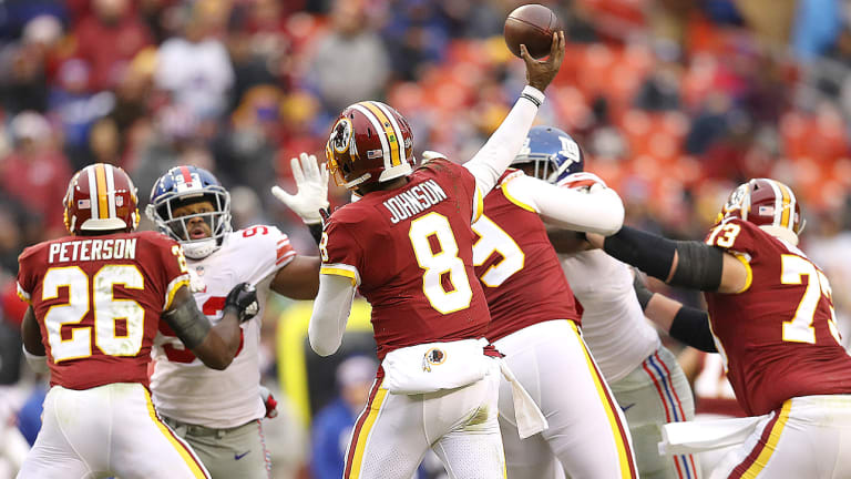 Washington Deserves That Blowout Home Loss to the Giants
