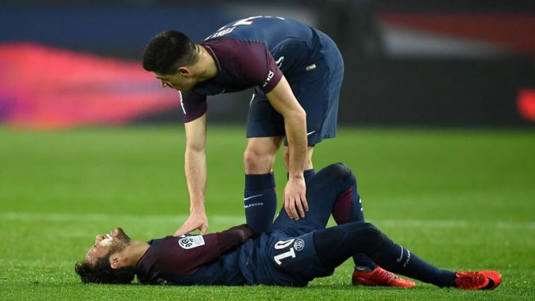 Marseille Defender Claims Neymar Is to Blame for Nasty Ankle Injury as Brazilian Faces Time Out