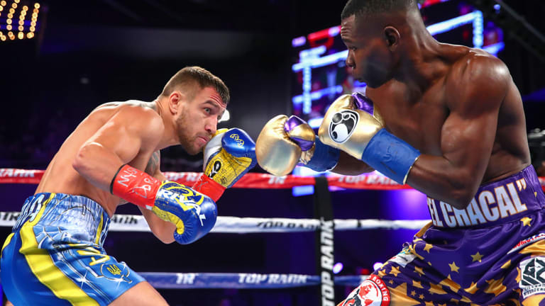 For Pound-for-Pound King Vasiliy Lomachenko, the Best Feet in Boxing Started With Dance Classes in Ukraine