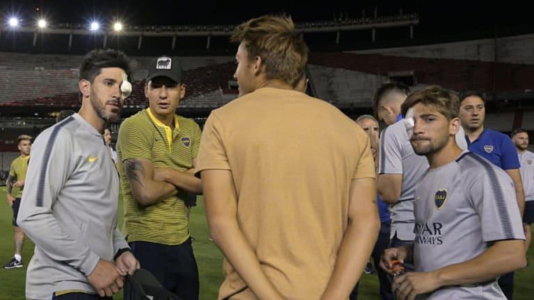 Denuncian a los doctores de CONMEBOL por el informe sobre los jugadores de Boca