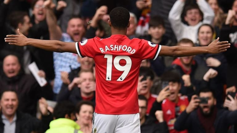 Marcus Rashford Quashes Recent Speculation He Could Quit Man Utd Over Lack of Starts