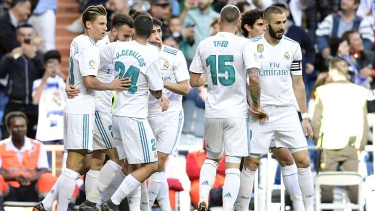 MEJOR TARDE QUE NUNCA   La felicitación del Real Madrid al FC Barcelona por el doblete