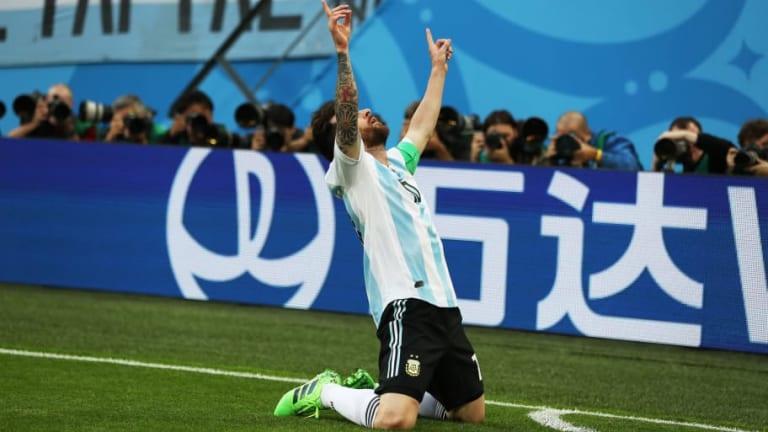 VÍDEO | La increíble historia del amuleto que llevo Messi contra Nigeria