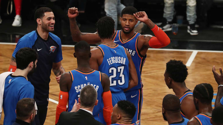 Paul George Proves He's a Worthy Co-Star Next to Russell Westbrook