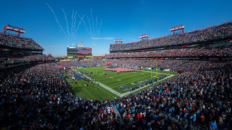 Fan Hospitalized After Fall at Nissan Stadium During Titans' Win vs. Patriots