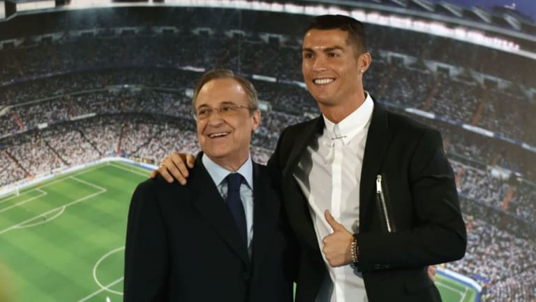 Cristiano Ronaldo Blames Florentino Perez for Pushing Him Out of Real Madrid This Summer