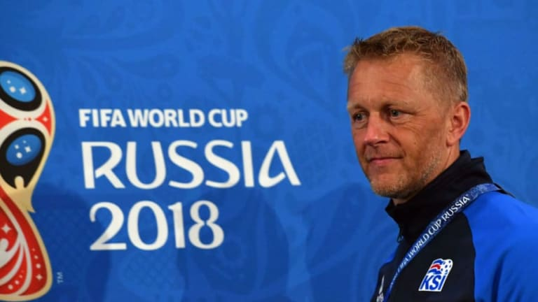 Heimir Hallgrimsson Suggests He Could Remain in Charge of Iceland Following World Cup Heartbreak
