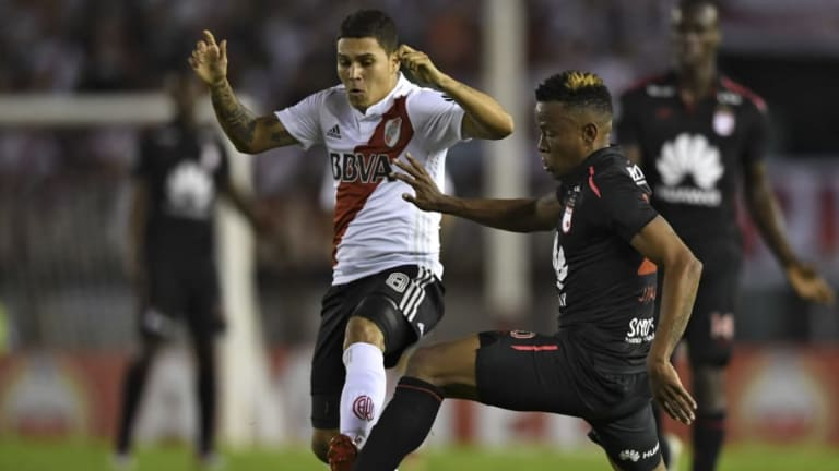 MERCADO: Estrella colombiana que juega en River Plate está en la mira de un equipo de la MLS