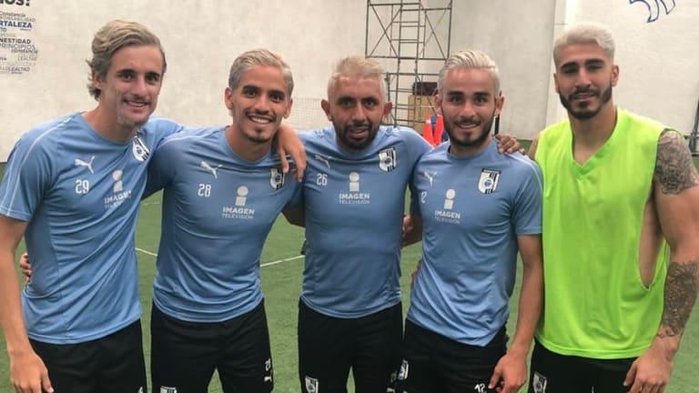 Raza guerrera   Los jugadores del Querétaro cambian de look para la Liguilla