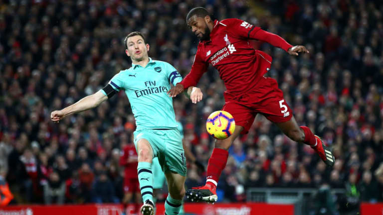 Alan Shearer Blasts Defender Stephan Lichtsteiner Following Arsenal's Defeat at Liverpool