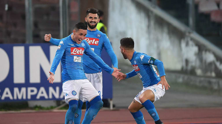 Jose Callejon Admits Napoli Are Now Dreaming of a First Title Since 1990 After Massive Lazio Win