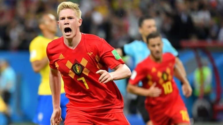 Kevin de Bruyne Sends Defiant Message to Rivals After Belgium Knock Out Brazil