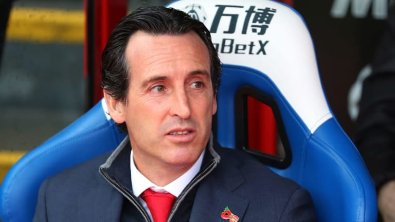 Pierre-Emerick Aubameyang Appears to Aim Sly Dig at Unai Emery After Draw Against Crystal Palace