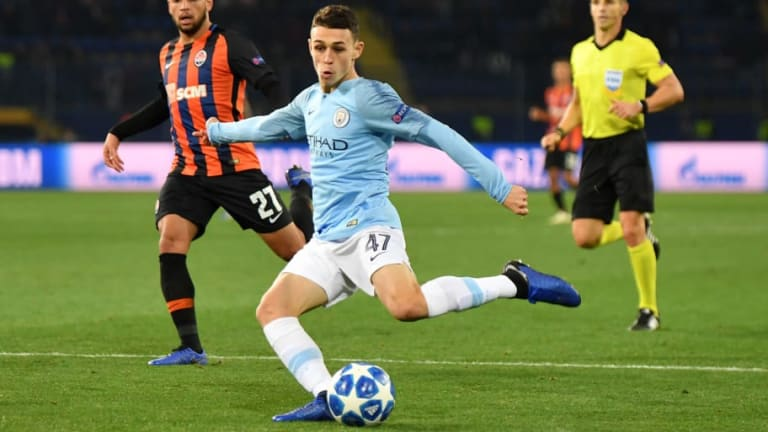 Juventus Planning Audacious Transfer for Manchester City Sensation Phil Foden