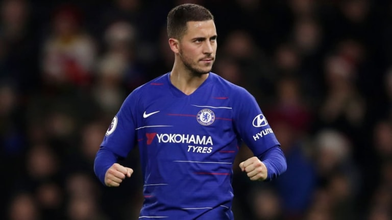 Watford 1-2 Chelsea: Report, Ratings & Reaction as Hazard Hits 100 Goals for the Blues
