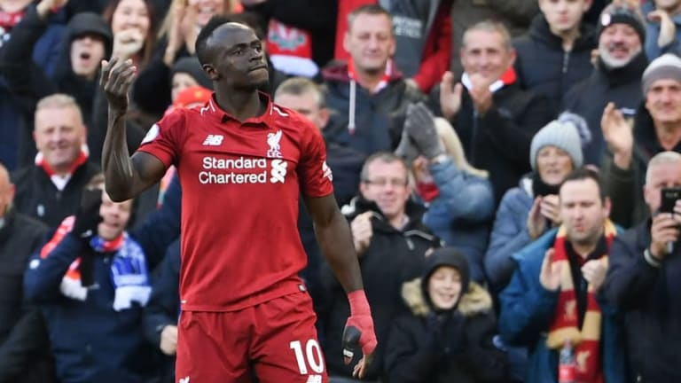 Sadio Mane Has a Message for Fans Who Blamed Alberto Moreno for Cardiff's Goal v Liverpool