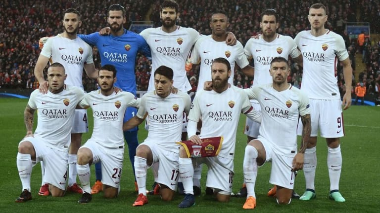 Two Key Roma Players Run the Risk of Missing Second Leg Against Liverpool Due to Injury