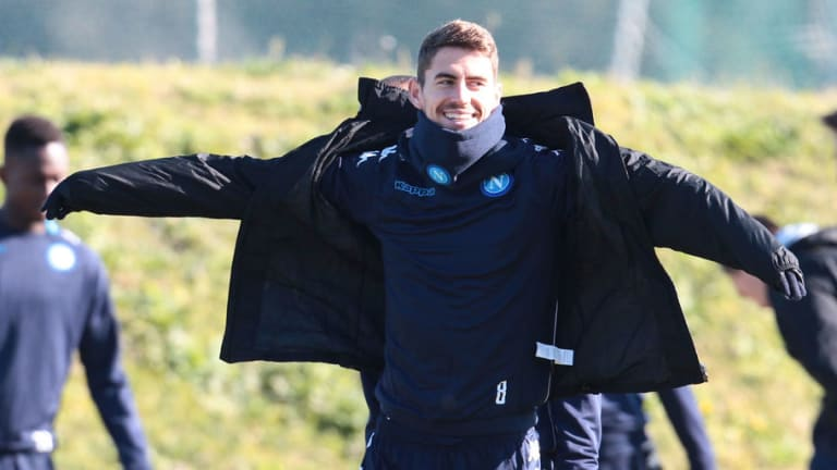 Napoli Ace Jorginho's Agent Claims Client Won't Join Man Utd Because it 'Rains Too Much' There