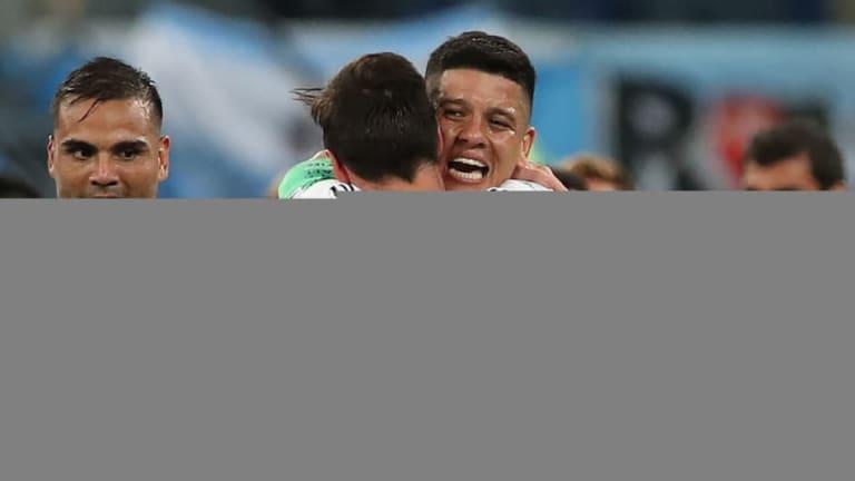 IMPRESIONANTE | El relato del gol de Marcos Rojo que emocionó a todos