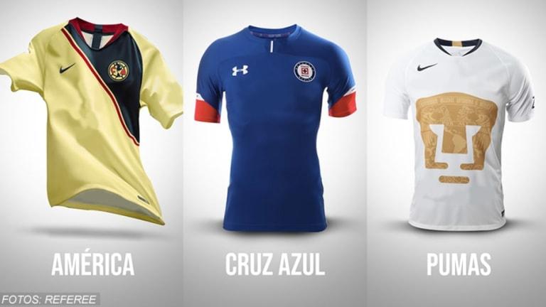 PULCROS   Así se verían todos los jerseys de la Liga MX sin patrocinios