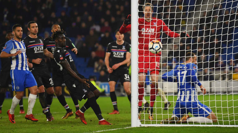 Brighton 2-1 Crystal Palace: Glenn Murray Scores Against Former Club in First VAR Regulated Game