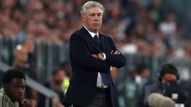 Carlo Ancelotti Bemoans 'Sluggish Mistakes' After Napoli Fall to 3-1 Juventus Defeat