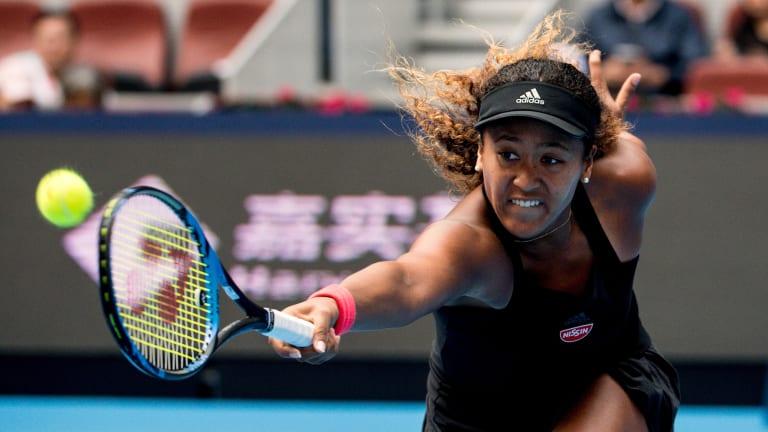 Osaka Defeats Zhang to Reach China Open Semifinals