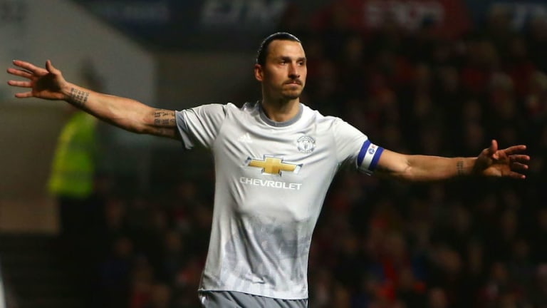 Zlatan Ibrahimovic Takes Massive Pay Cut to Join LA Galaxy From Manchester United