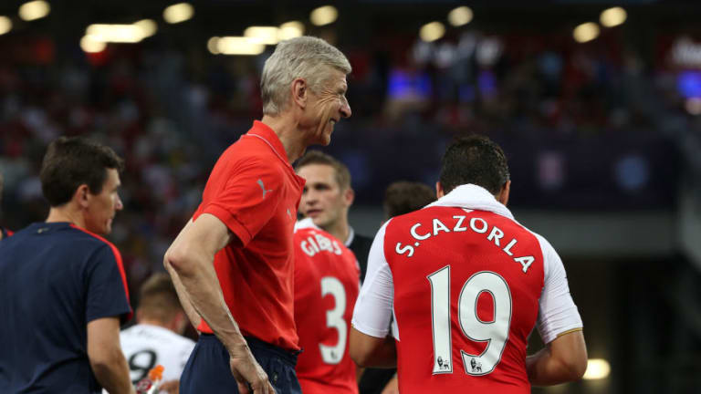 Arsenal Favourite Admits He's Hopeful of Playing for Arsenal Before Arsene Wenger Departs
