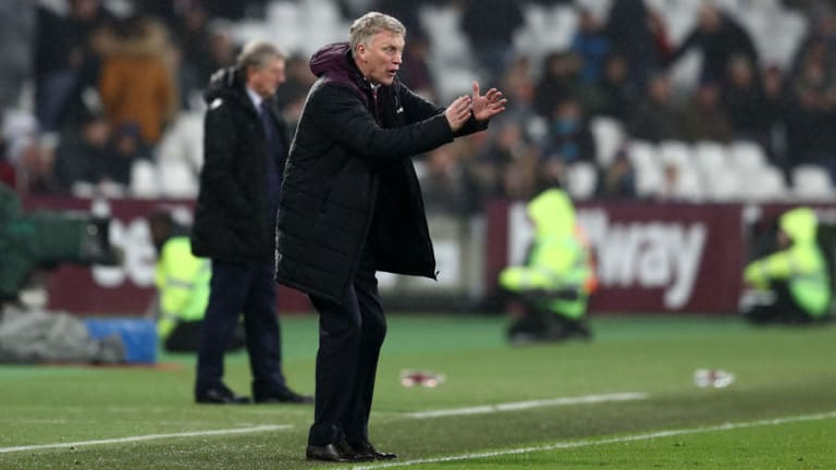 David Moyes 'Pleased' With Injury-Stricken West Ham's 1-1 Draw Against Crystal Palace
