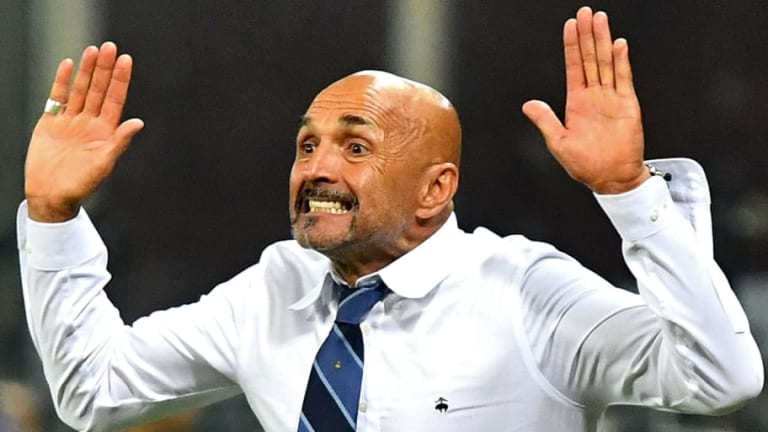 Luciano Spalletti Avoids Touchline Ban & Fined After Inter Appeal Sanction for Excessive Celebration