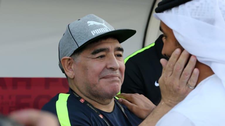 PICANTE | Maradona criticó a un histórico de la Selección por cuestionar al Papu Gómez