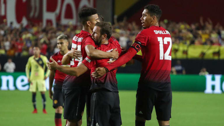 Mourinho & Mata Full of Praise for Youngsters as Man Utd Kick Off Summer Tour With Draw