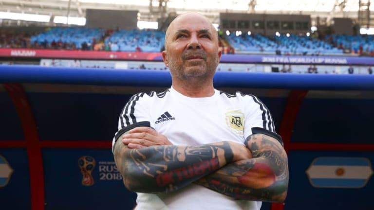 Argentine FA & Jorge Sampaoli Come to $2m Contract Settlement After Woeful World Cup Display