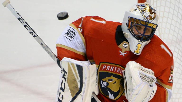 Panthers Goalie Roberto Luongo to Honor Parkland Shooting Victims on Mask This Season