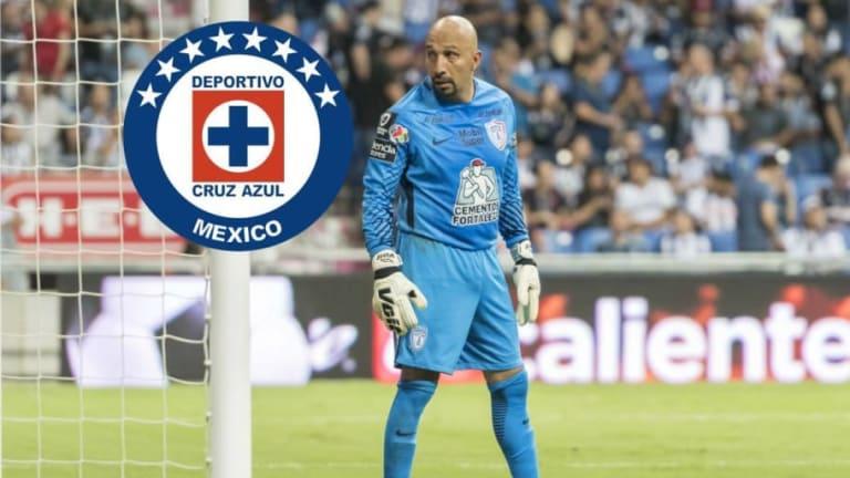 "Emotivas palabras del ""Conejo"" Pérez a Cruz Azul"