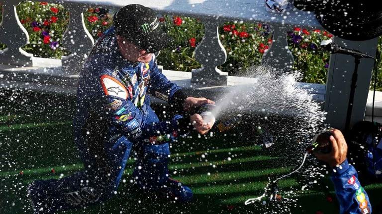 NASCAR Points Leader Kyle Busch Looking to Dominate Playoffs
