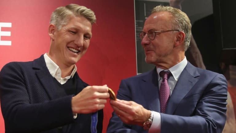 German Midfielder Bastian Schweinsteiger Inducted Into FC Bayern Hall of Fame