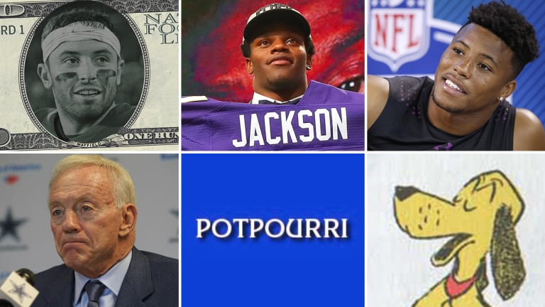 It's Time to Abolish the Rookie Wage Scale, Why the Ravens Desperately Needed Lamar Jackson, and Saquon Barkley is Not Solely a Running Back