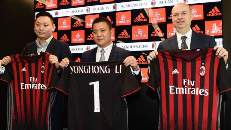 AC Milan Takeover Falls Through After Owner Li Yonghong Reportedly Changes Terms of €500m Deal